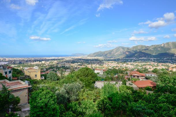 View from Monreale Cathedral