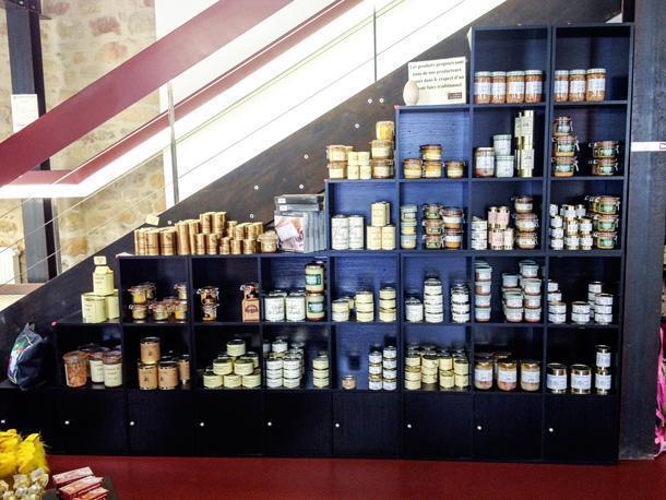 La Maison de Foie Gras sells Thiviers most famous local product