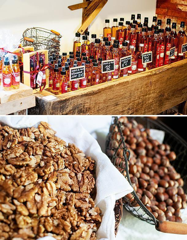 The gourmet shop is filled with plenty of nutty treats