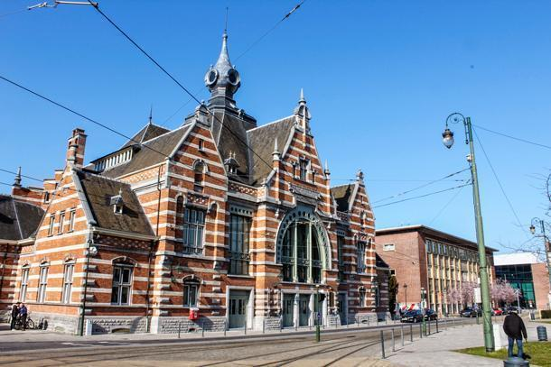 Schaarbeek is the most beautiful station in the Brussels Capital Region