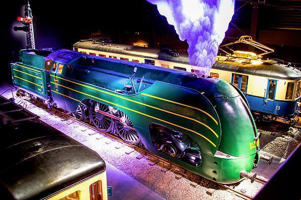 Train World's central masterpiece - the astonishing Type 12 steam locomotive