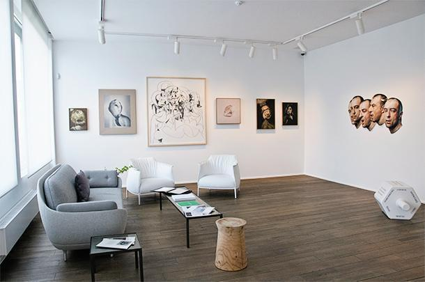 Maison Particulière is a cosy and inviting Contemporary Art gallery in Brussels