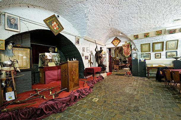 The tiny crossbow guild museum, in Brussels