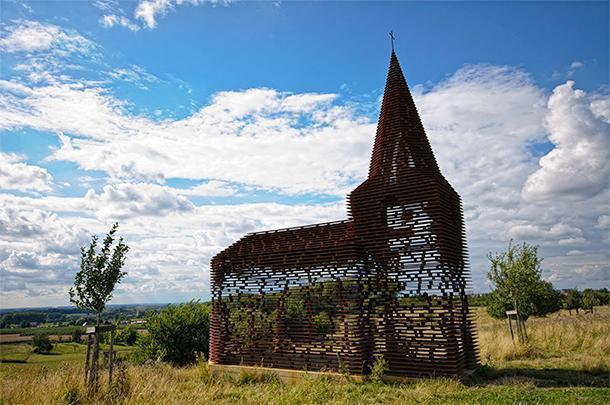 You need to get off the beaten path to discover this unique work of art in Belgium