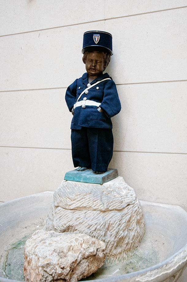Did you know Belgium's Manneken Pis has a twin in Poitiers?