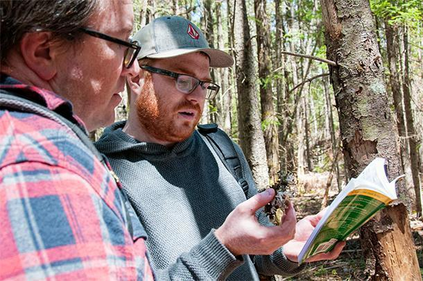 In Fredericton, Canada, we went foraging with a local chef. He was a great resource for all things food and nature in the area.