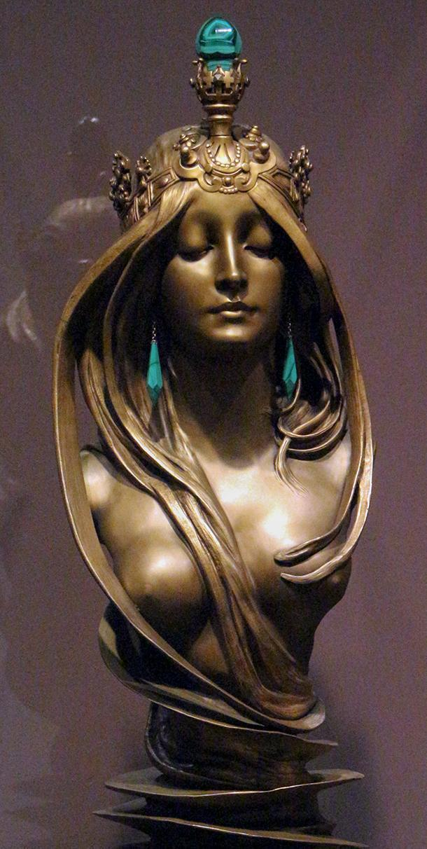 Alphonse Mucha, La Natura, at the Fin de Siecle Museum in Brussels