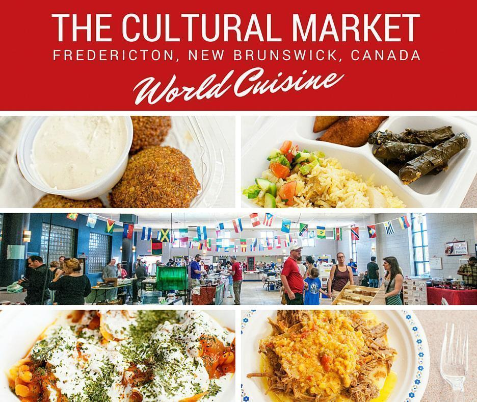 The Cultural Market, Fredericton, New Brunswick, Canada