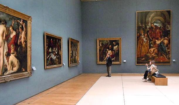 Old Masters at the Royal Museum of Fine Arts in Brussels, Belgium