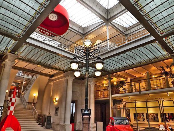 Belgian Comic Strip Centre designed by Victor Horta, Brussels, Belgium