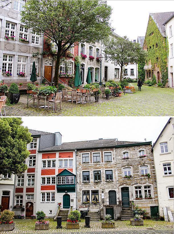The medieval village of Kornelimünster