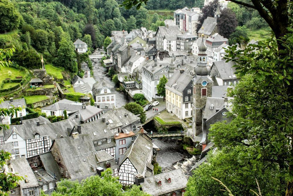 The view's of Monschau are worth the effort of a steep hike