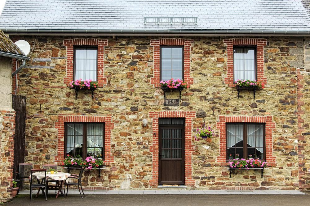 Pretty stone house in Honsfeld, Belgium