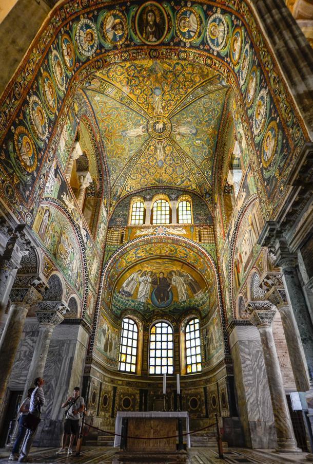 The Basilica San Vitale, Ravenna, Italy
