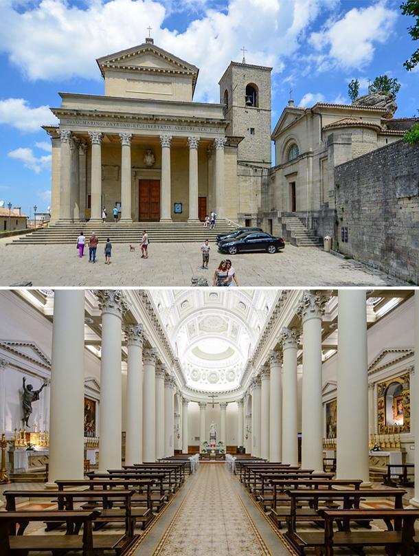 The Basilica di San Marino