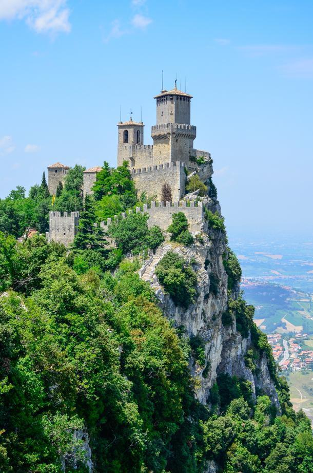 San Marino's First Tower - Guaita