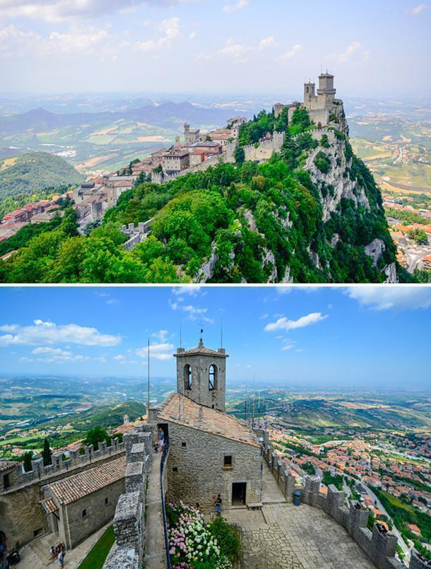 Stunning views of the First Tower