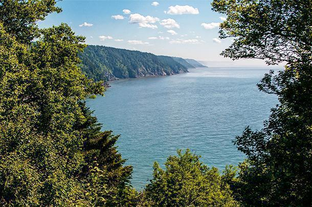 Breath-taking views of the Fundy Coast