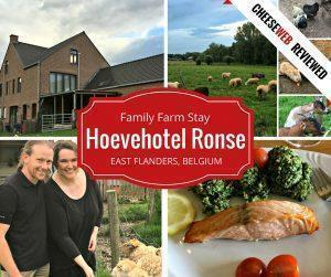 Farm Stay at Hoevehotel Ronse, East Flanders, Belgium