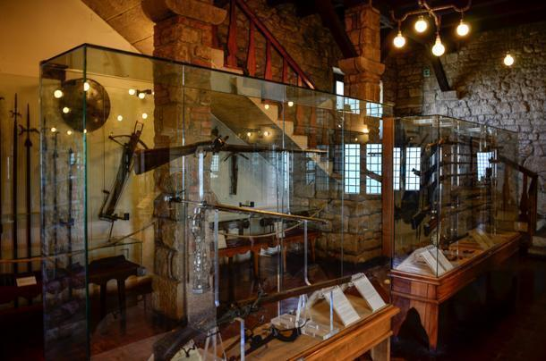 Museum of Anciet Weapons in the 2nd tower