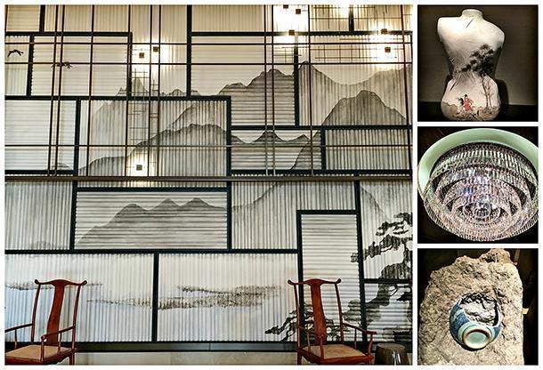 Tangla's hotel lobby exemplifies minimalistic elegance
