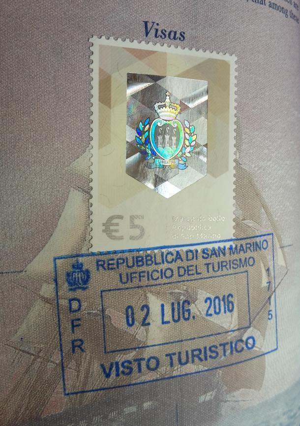 Get the pretty San Marino tourist visa