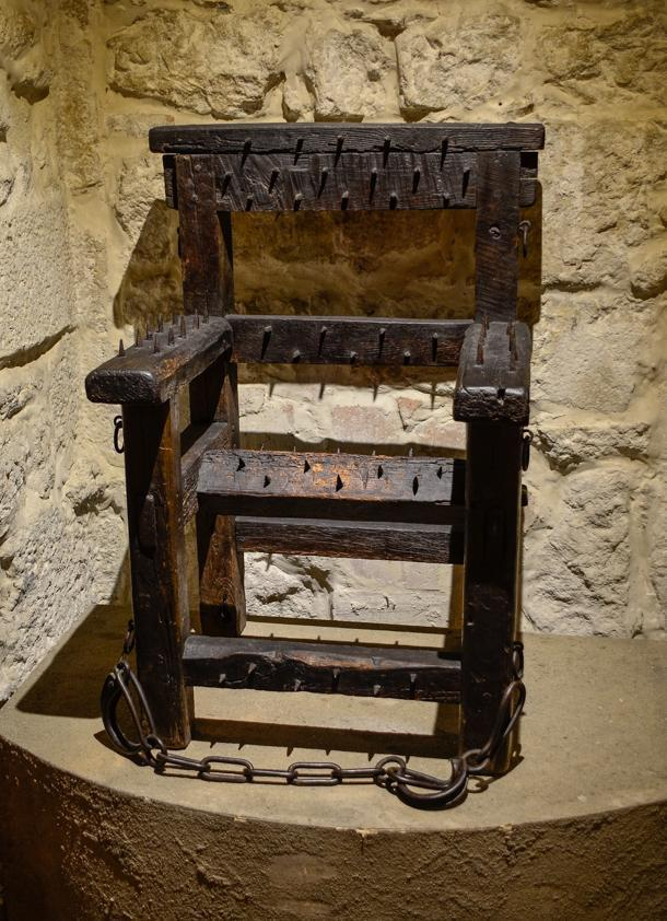 The Museum of Torture is not for the faint of heart