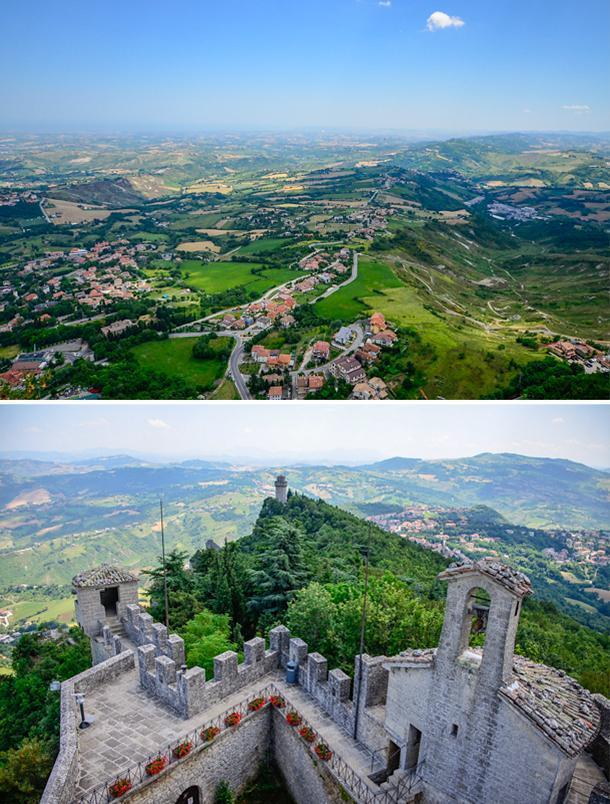San Marino's Third Tower – Montale