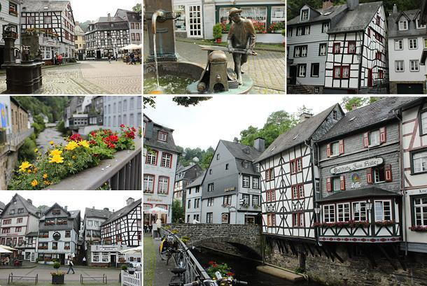 Allow plenty of time to explore timber-framed Monschau