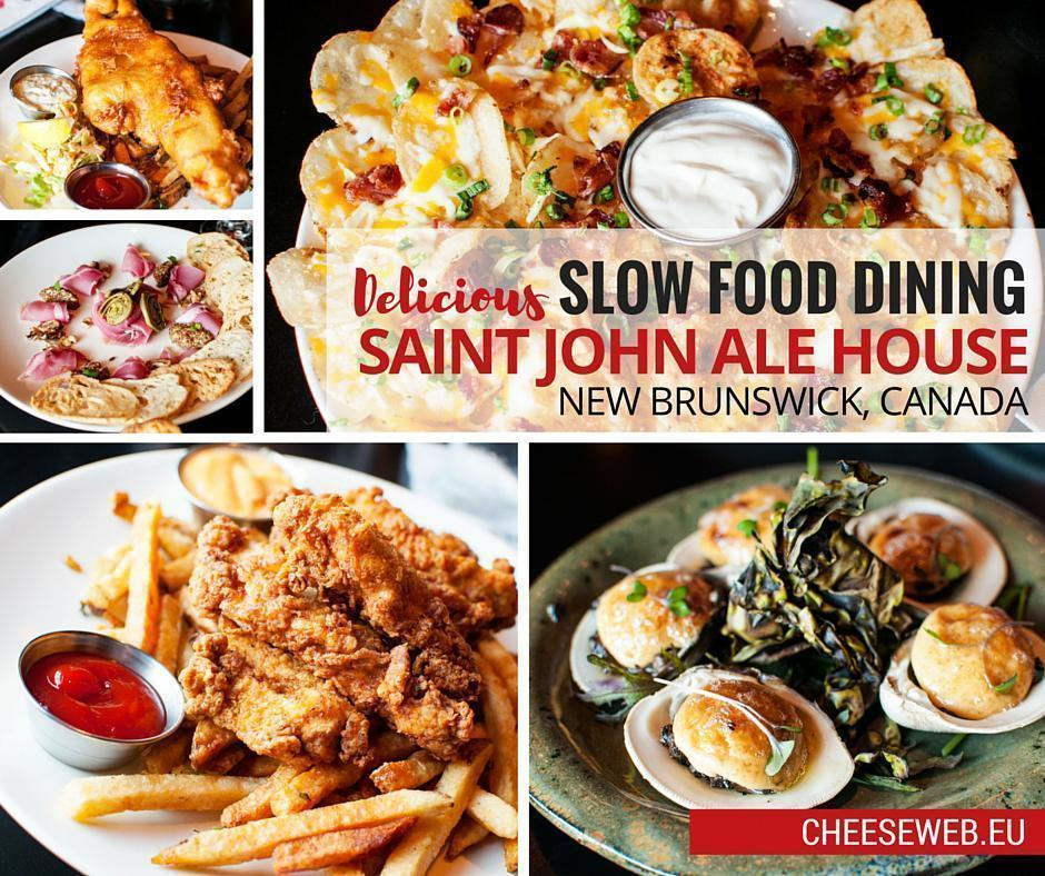 Review: Saint John Ale House Slow Food Restaurant, New Brunswick, Canada