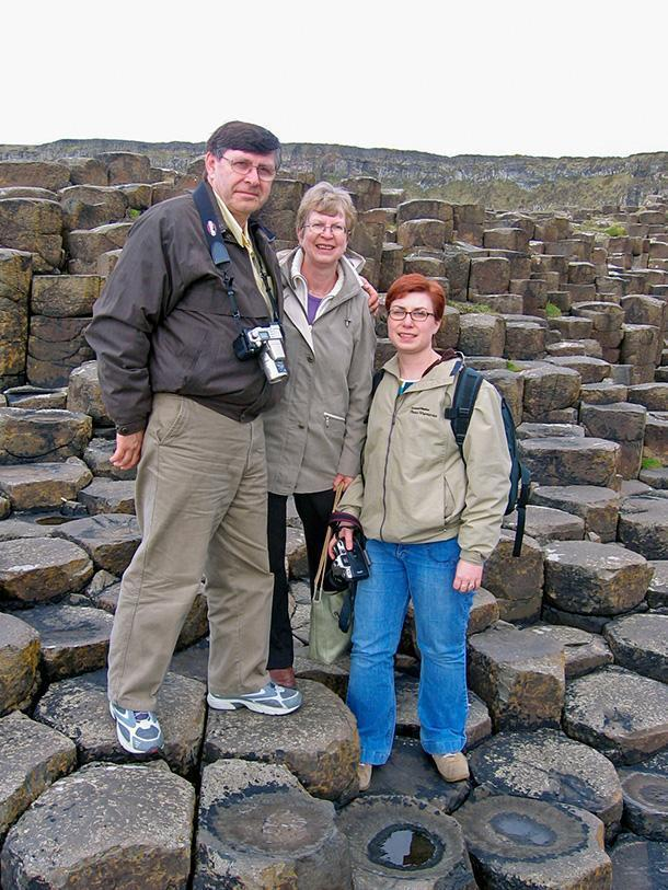 Exploring Northern Ireland on my parents' first European adventure