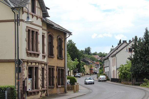 A quick glance at Lissendorf on the way to Gerolstein