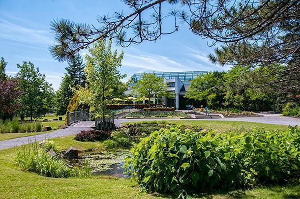 Edmundston, New Brunswick's Botanical Garden