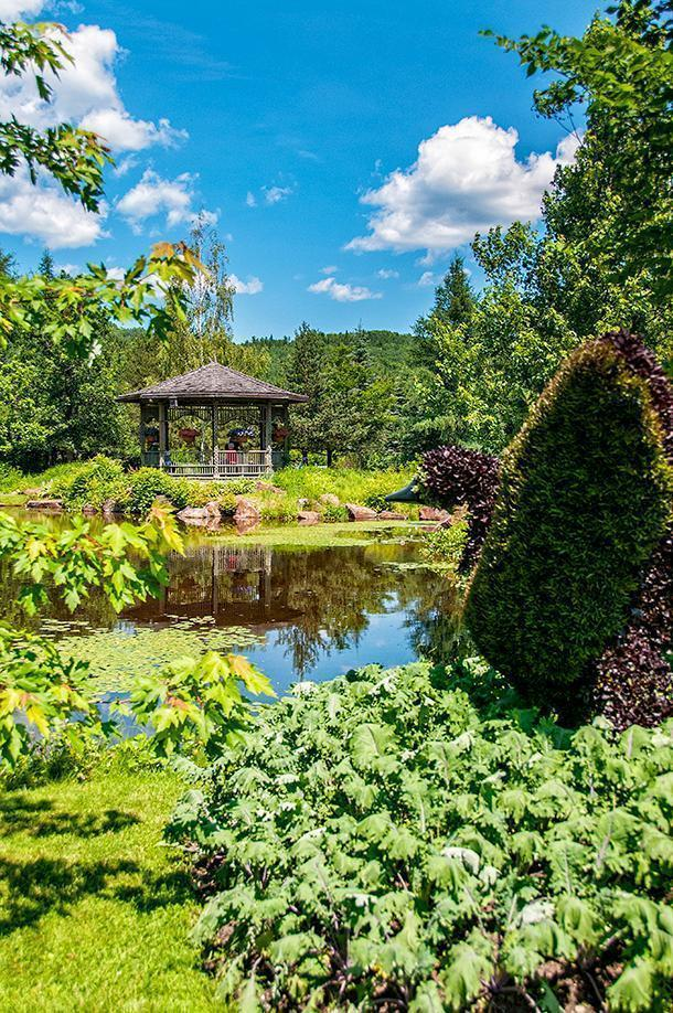 Don't miss the stunning New Brunswick Botanical Garden in Edmundston
