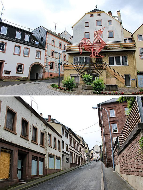 Kyllburg, the steepest village on my route through Eifel