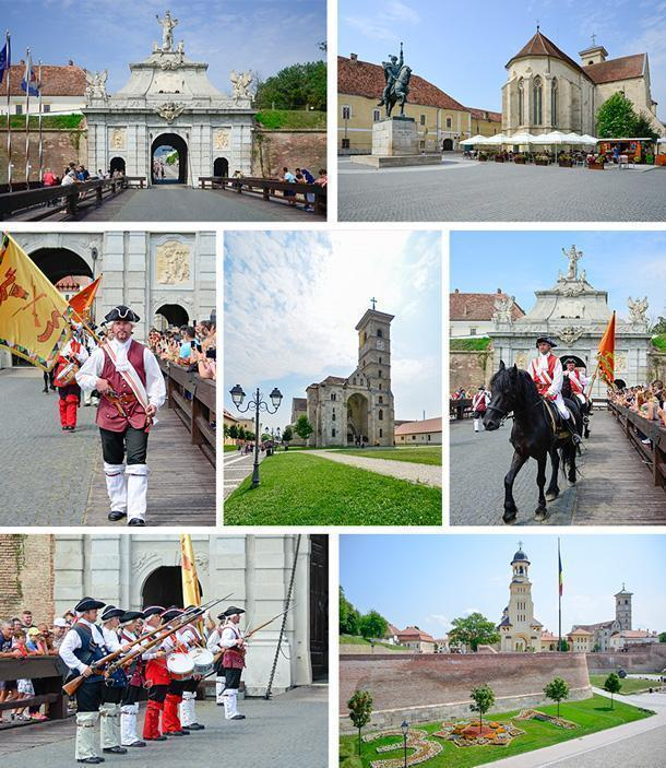 Don't miss the changing of the guard at Alba Iulia, in Transylvania