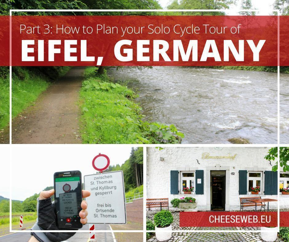 How to plan a solo cycle tour of Eifel, Germany