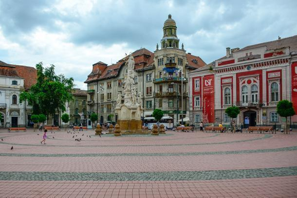 Liberty Square, Timisoara, Romania