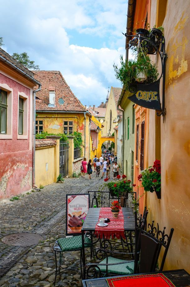 How can you not be charmed by Sighisoara, Romania