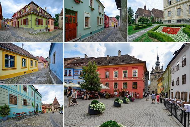 Colourful Sighisoara is recognised by UNESCO