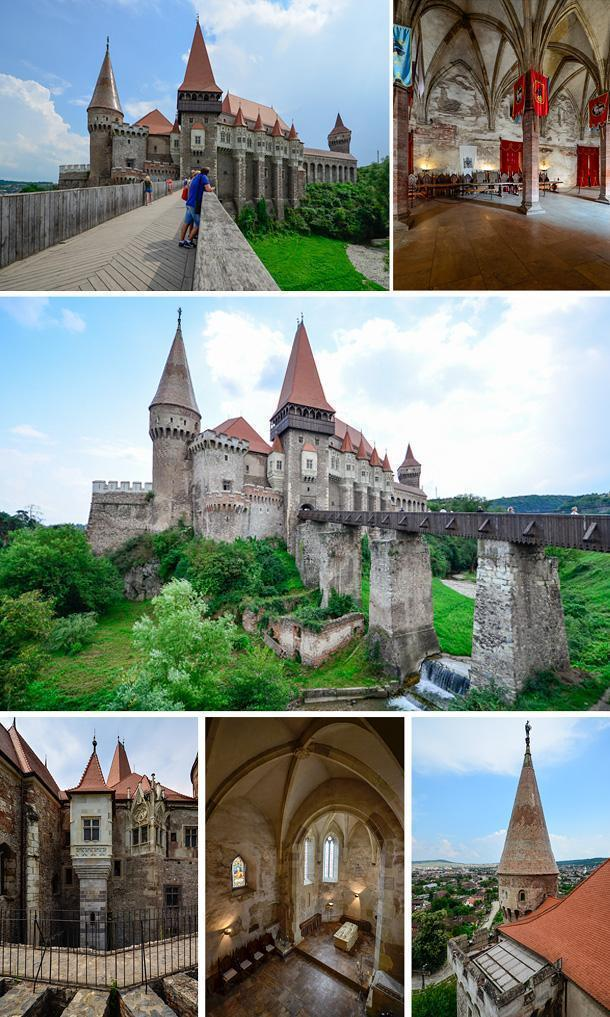Corvin Castle is a stunning example of Transylvania's historic landmarks.