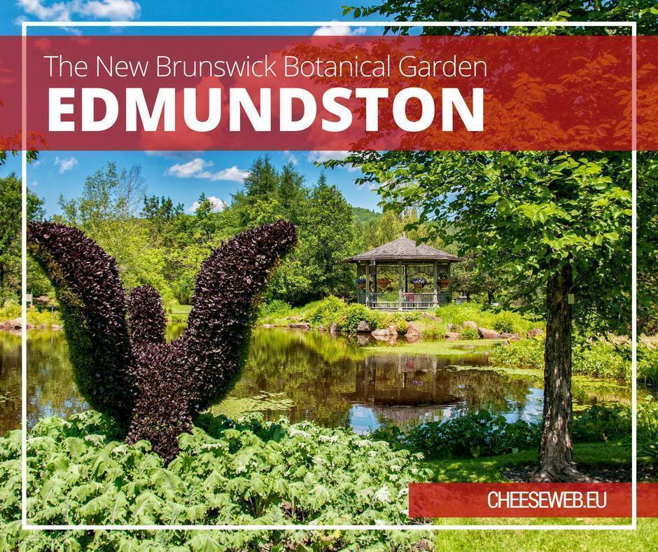The New Brunswick Botanical Garden, in Edmundston, Canada