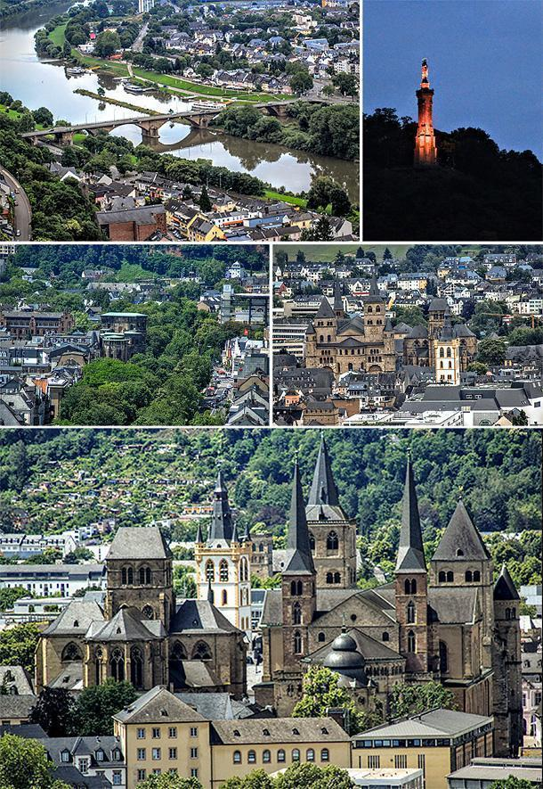 Trier from above