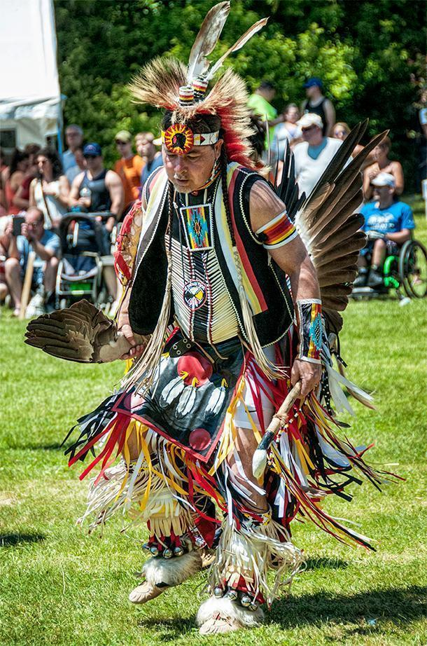 Colourful regalia, dancing, and drums were about all we knew to expect from our first powwow.