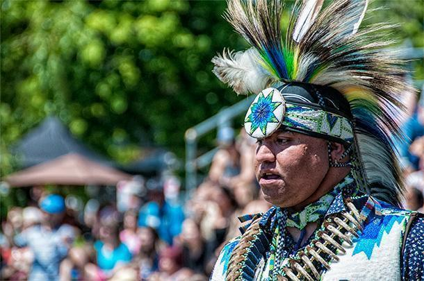 The Saint Mary's First Nations Powwow, in Fredericton, NB
