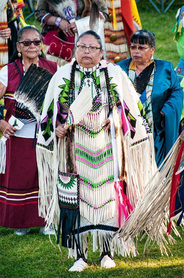 Many elders made the long journey to attend the Saint Mary's Powwow