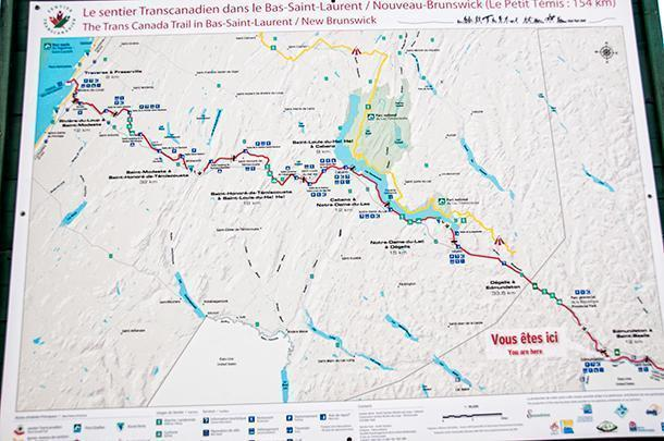 If you're up for a cycling challenge, check out the Petit Temis Trail to Quebec