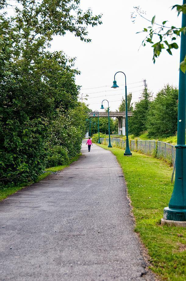 Edmundston's section of the Trans-Canada trail is accessible to everyone.