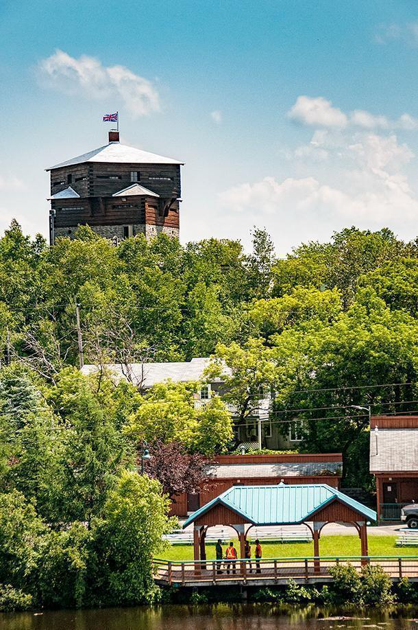Step back in time at the Petit-Sault Blockhouse in Edmundston