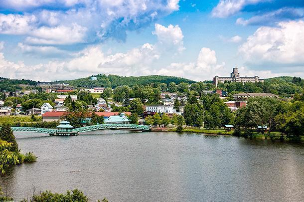 Beautiful Edmundston, New Brunswick has something to offer every traveller.